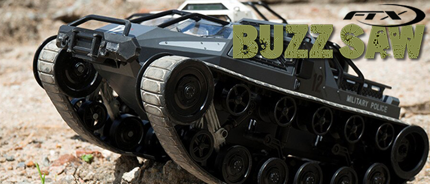 FTX BUZZSAW 1/12 ALL TERRAIN TRACKED VEHICLE